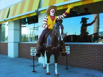 McDonald horse